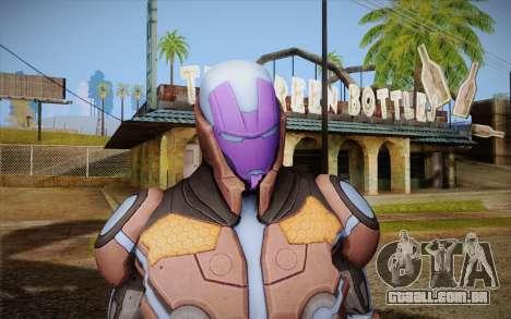 Living Laser Skin para GTA San Andreas terceira tela