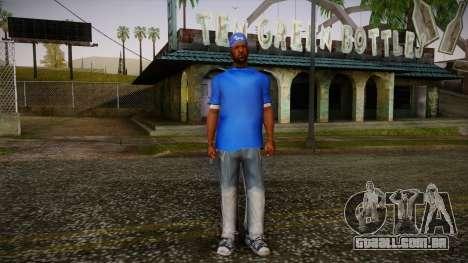 Sweet Blue Skin para GTA San Andreas