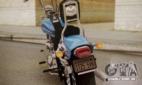 Harley-Davidson FXSTS Springer Softail para GTA San Andreas vista direita