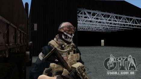 Army Ghost v2 para GTA San Andreas