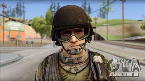 Forest GROM from Soldier Front 2 para GTA San Andreas terceira tela