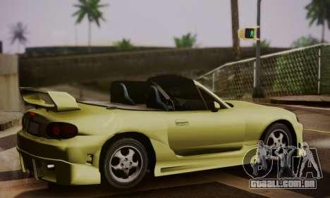 Mazda MX5 DUB para GTA San Andreas esquerda vista