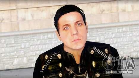 Till Lindemann Skin para GTA San Andreas terceira tela
