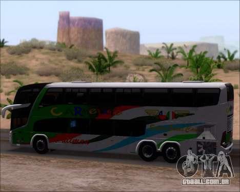 Marcopolo Paradiso G7 1800 DD 6x2 Scania K420 para GTA San Andreas vista interior