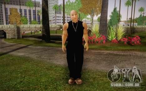 Domenic Toretto para GTA San Andreas