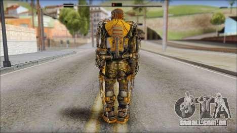 Exoskeleton para GTA San Andreas segunda tela