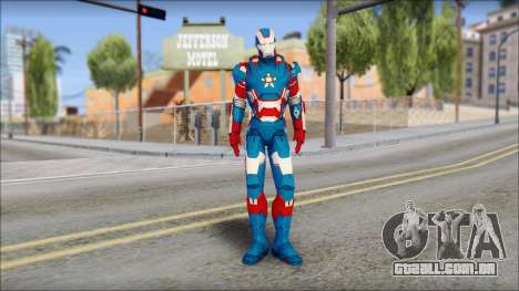 Iron Patriot para GTA San Andreas