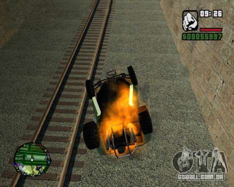 O golpe de estado para GTA San Andreas
