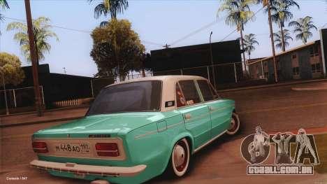 VAZ 2103 Havana para GTA San Andreas esquerda vista