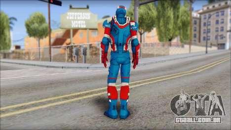 Iron Patriot para GTA San Andreas segunda tela
