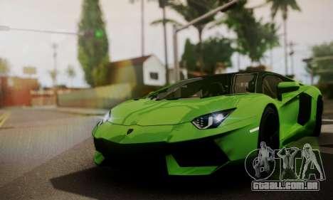 Lamborghini Aventador TT Ultimate Edition para GTA San Andreas vista interior