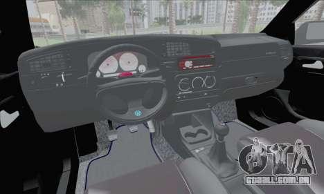 Volksvagen Golf Mk3 para GTA San Andreas vista traseira