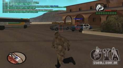 ESP para GTA San Andreas terceira tela