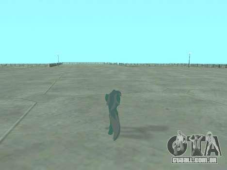 Lyra para GTA San Andreas sexta tela