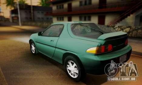 Mazda MX-3 para GTA San Andreas esquerda vista