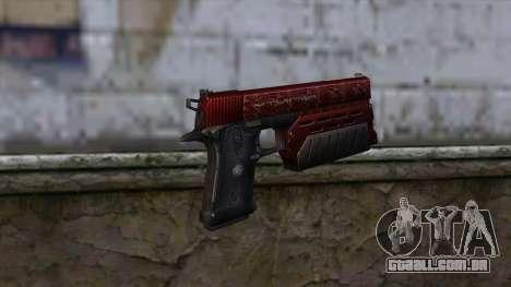 Infinity EX2 Red from CSO NST para GTA San Andreas segunda tela