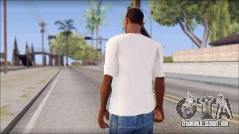Macbeth T-Shirt para GTA San Andreas segunda tela
