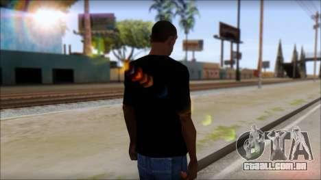 DM T-Shirt Drogerie Market para GTA San Andreas segunda tela