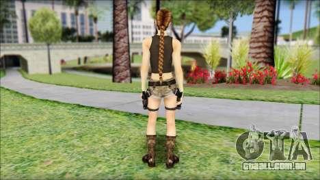 Best Lara Croft para GTA San Andreas segunda tela