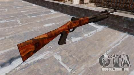 Ружье Benelli M3 Super 90 bacon para GTA 4 segundo screenshot