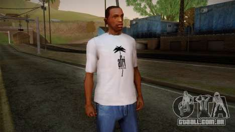 Afri Cola White Shirt para GTA San Andreas