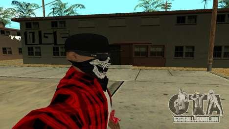 Selfie Mod para GTA San Andreas terceira tela