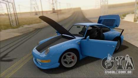 Porsche 911 GT2 (993) 1995 V1.0 SA Plate para GTA San Andreas vista direita