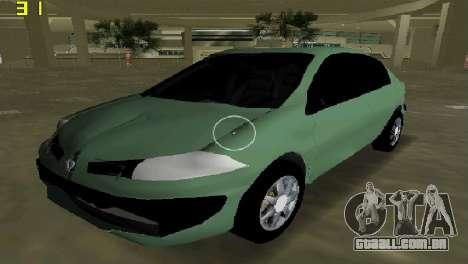 Renault Megane Sedan 2001 para GTA Vice City
