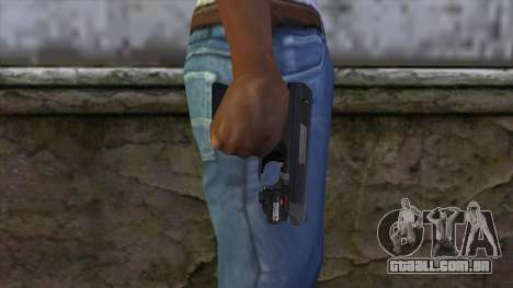 VP-70 Pistol from Resident Evil 6 v2 para GTA San Andreas terceira tela