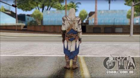 Connor Kenway Assassin Creed III v1 para GTA San Andreas segunda tela