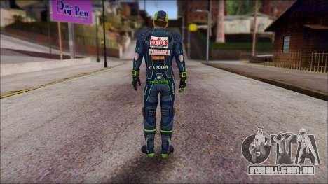 Piers Azul Gorra para GTA San Andreas segunda tela