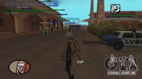 ESP para GTA San Andreas segunda tela