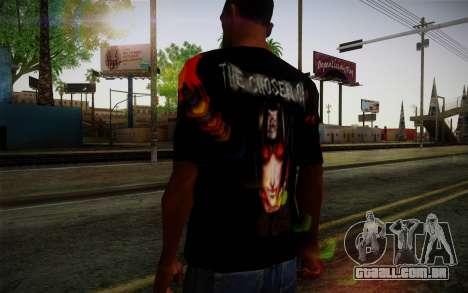 Uchiha Itachi T-Shirt para GTA San Andreas terceira tela