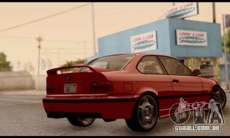 BMW M3 E36 1994 para GTA San Andreas esquerda vista