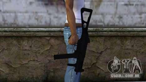 UMP-45 from CS:GO v2 para GTA San Andreas terceira tela