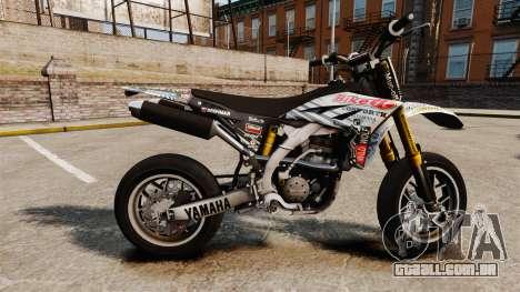 Yamaha YZF-450 v1.10 para GTA 4 esquerda vista