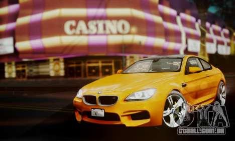 BMW M6 F13 2013 para GTA San Andreas vista direita