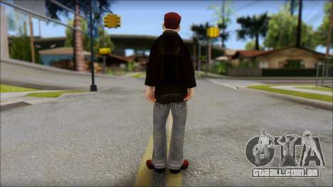 Vance from Bully Scholarship Edition para GTA San Andreas segunda tela