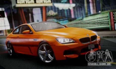 BMW M6 F13 2013 para GTA San Andreas esquerda vista