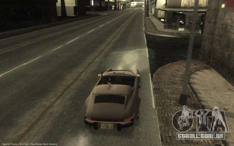 Ghetto ENB para GTA San Andreas por diante tela