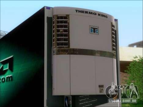 Trailer AMD Phenom X4 para GTA San Andreas vista traseira