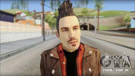 Biker from Avenged Sevenfold 3 para GTA San Andreas terceira tela