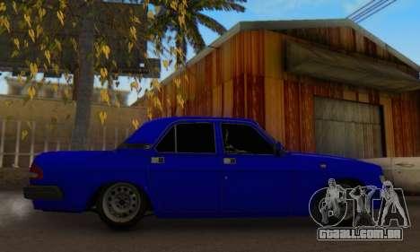 GAZ 3110 Volga LT para GTA San Andreas vista direita