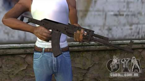 Assault Rifle from GTA 5 v2 para GTA San Andreas terceira tela