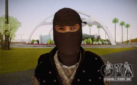 Fuerzas Especiales para GTA San Andreas terceira tela