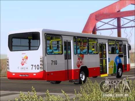 Neobus Mega IV - TCA (Araras) para GTA San Andreas vista direita