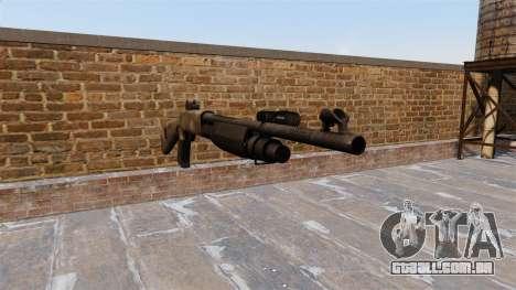 Ружье Benelli M3 Super 90 um tac au para GTA 4