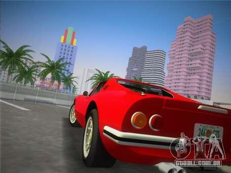 Ferrari 246 Dino GTS 1972 para GTA Vice City deixou vista
