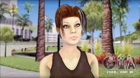 Best Lara Croft para GTA San Andreas terceira tela