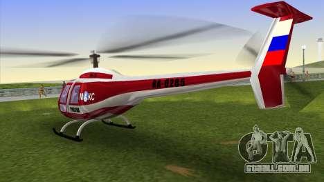 Mi-34 para GTA Vice City deixou vista